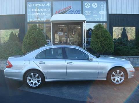 2007 Mercedes-Benz E-Class for sale at Advance Auto Center in Rockland MA