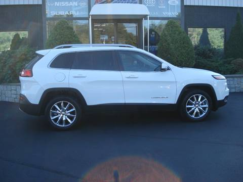 2014 Jeep Cherokee for sale at Advance Auto Center in Rockland MA