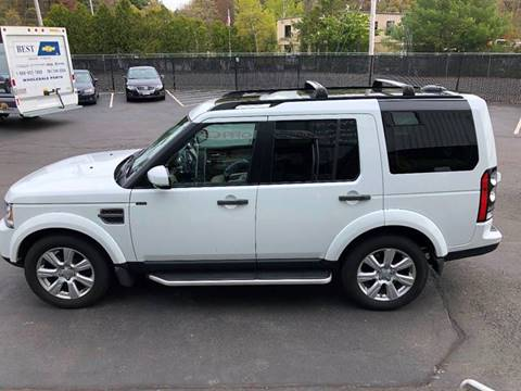 2016 Land Rover LR4 for sale at Advance Auto Center in Rockland MA