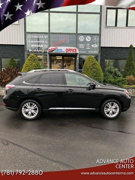 2012 Lexus RX 450h for sale at Advance Auto Center in Rockland MA