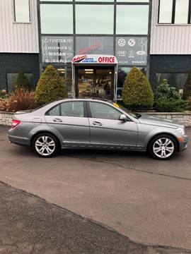 2008 Mercedes-Benz C-Class for sale at Advance Auto Center in Rockland MA