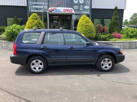 2005 Subaru Forester for sale at Advance Auto Center in Rockland MA