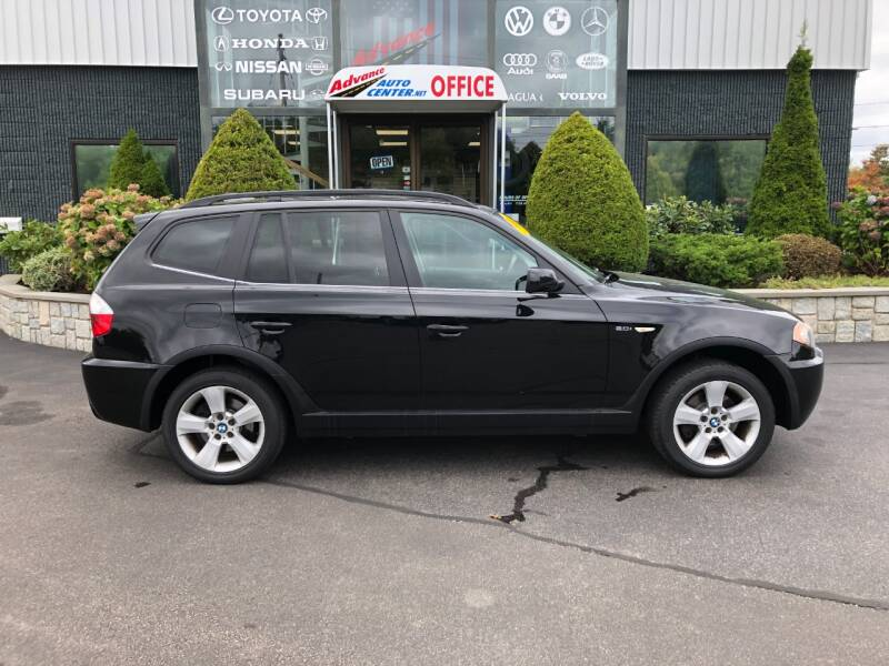 2006 BMW X3 for sale at Advance Auto Center in Rockland MA
