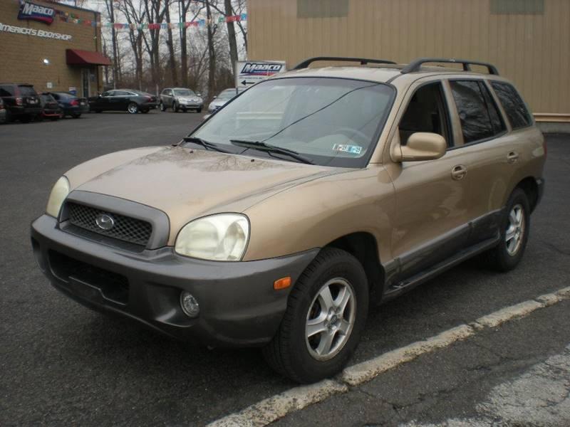 2004 Hyundai Santa Fe For Sale At 611 CAR CONNECTION In Hatboro PA