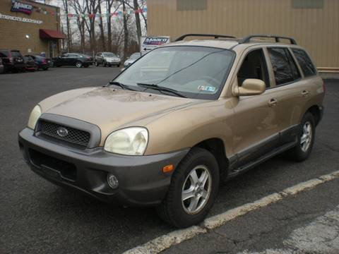 2004 Hyundai Santa Fe for sale at 611 CAR CONNECTION in Hatboro PA