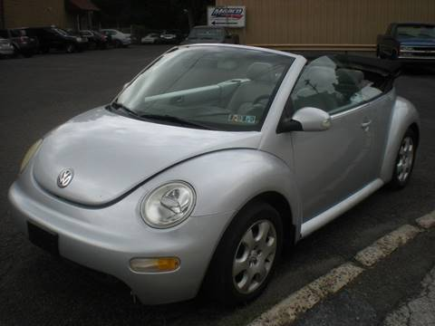 2003 Volkswagen New Beetle for sale at 611 CAR CONNECTION in Hatboro PA