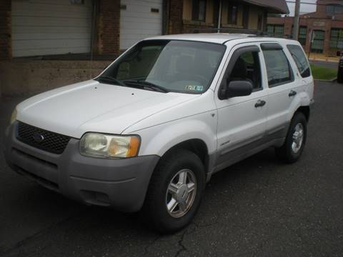 2002 Ford Escape for sale at 611 CAR CONNECTION in Hatboro PA
