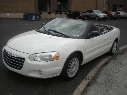 2005 Chrysler Sebring for sale at 611 CAR CONNECTION in Hatboro PA