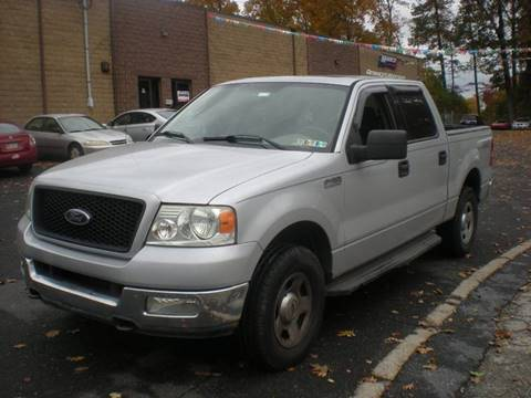 2004 Ford F-150 for sale at 611 CAR CONNECTION in Hatboro PA