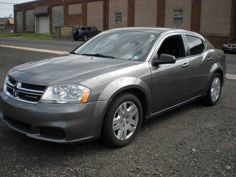 2013 Dodge Avenger for sale at 611 CAR CONNECTION in Hatboro PA