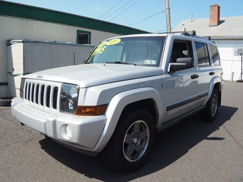 2006 Jeep Commander for sale at 611 CAR CONNECTION in Hatboro PA