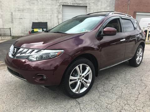 2009 Nissan Murano for sale at 611 CAR CONNECTION in Hatboro PA