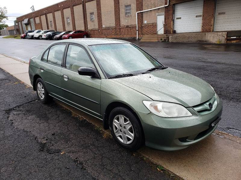 2004 Honda Civic for sale at 611 CAR CONNECTION in Hatboro PA
