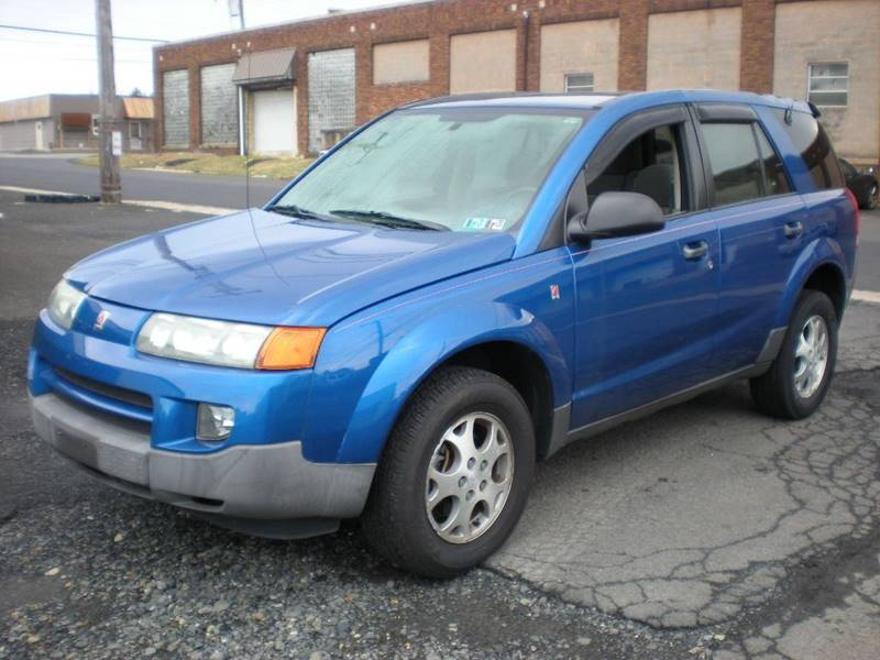 2003 Saturn Vue for sale at 611 CAR CONNECTION in Hatboro PA