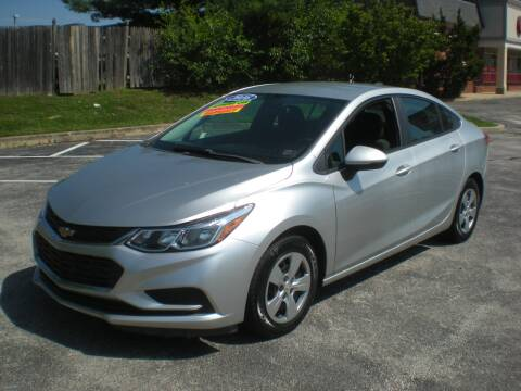 2016 Chevrolet Cruze for sale at 611 CAR CONNECTION in Hatboro PA