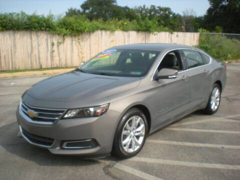 2017 Chevrolet Impala for sale at 611 CAR CONNECTION in Hatboro PA