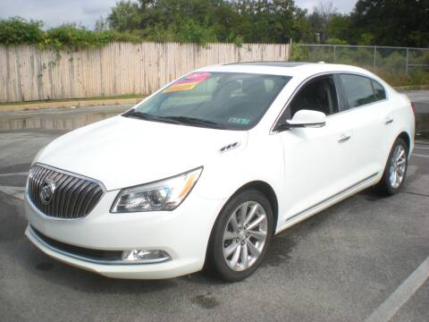 2016 Buick LaCrosse for sale at 611 CAR CONNECTION in Hatboro PA