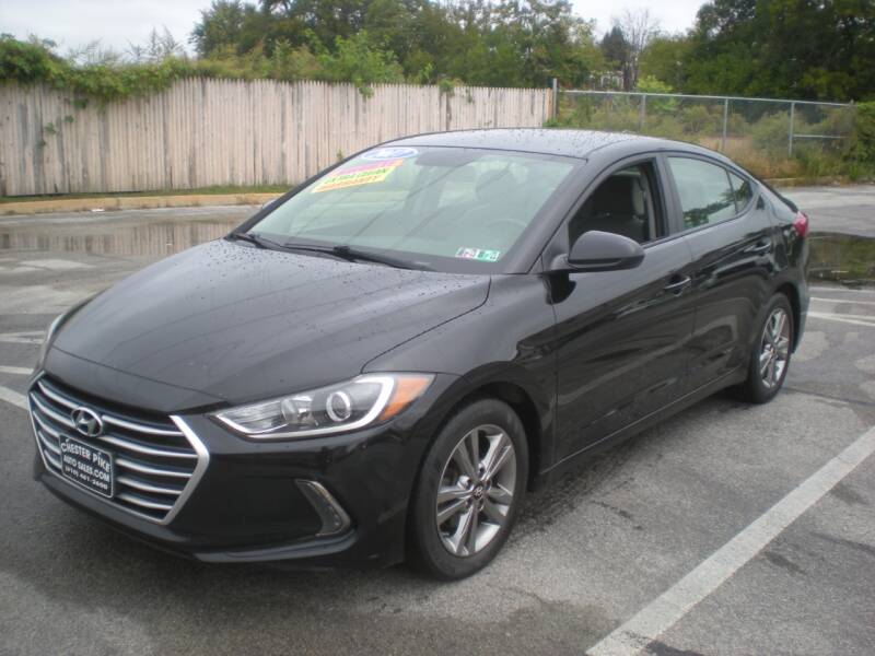 2017 Hyundai Elantra for sale at 611 CAR CONNECTION in Hatboro PA