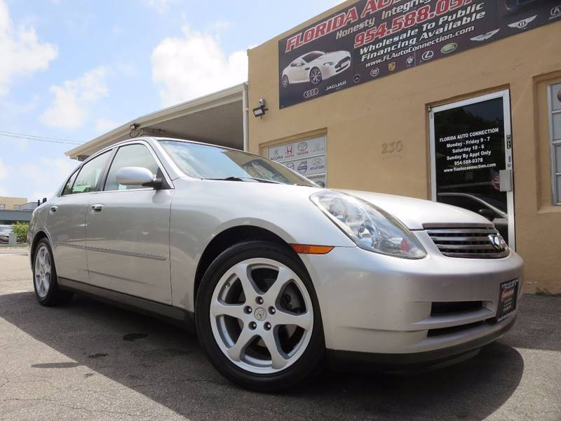 2004 Infiniti G35 for sale at FLORIDA AUTO CONNECTION in Hollywood FL