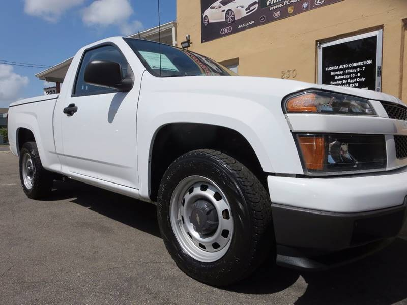 2012 Chevrolet Colorado for sale at FLORIDA AUTO CONNECTION in Hollywood FL