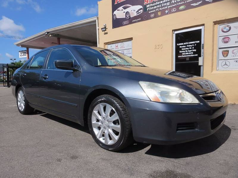 2006 Honda Accord for sale at FLORIDA AUTO CONNECTION in Hollywood FL