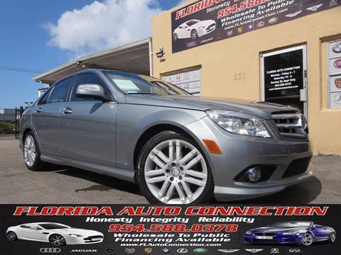 2008 Mercedes-Benz C-Class for sale at FLORIDA AUTO CONNECTION in Hollywood FL