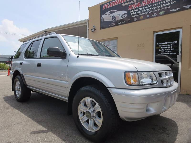 2001 Isuzu Rodeo for sale at FLORIDA AUTO CONNECTION in Hollywood FL