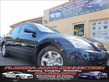 2009 Nissan Altima for sale at FLORIDA AUTO CONNECTION in Hollywood FL
