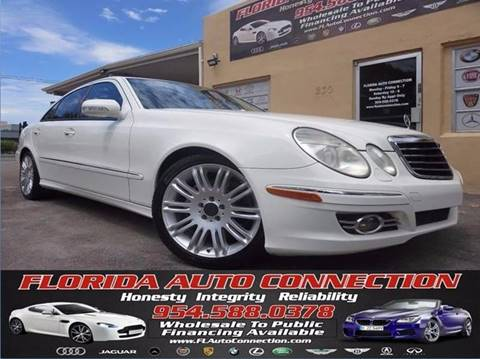 2008 Mercedes-Benz E-Class for sale at FLORIDA AUTO CONNECTION in Hollywood FL