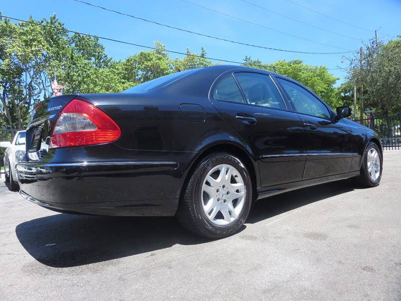 2007 Mercedes-Benz E-Class for sale at FLORIDA AUTO CONNECTION in Hollywood FL