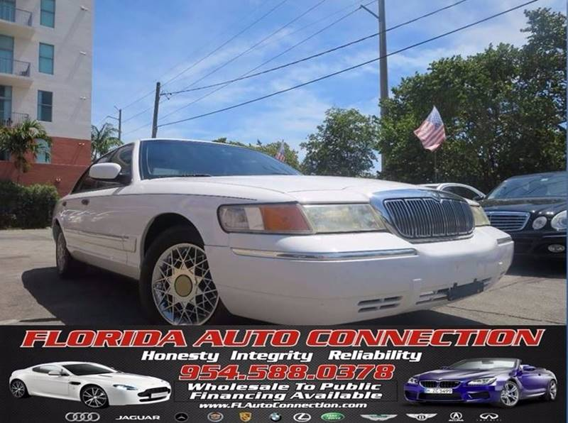 2002 Mercury Grand Marquis for sale at FLORIDA AUTO CONNECTION in Hollywood FL