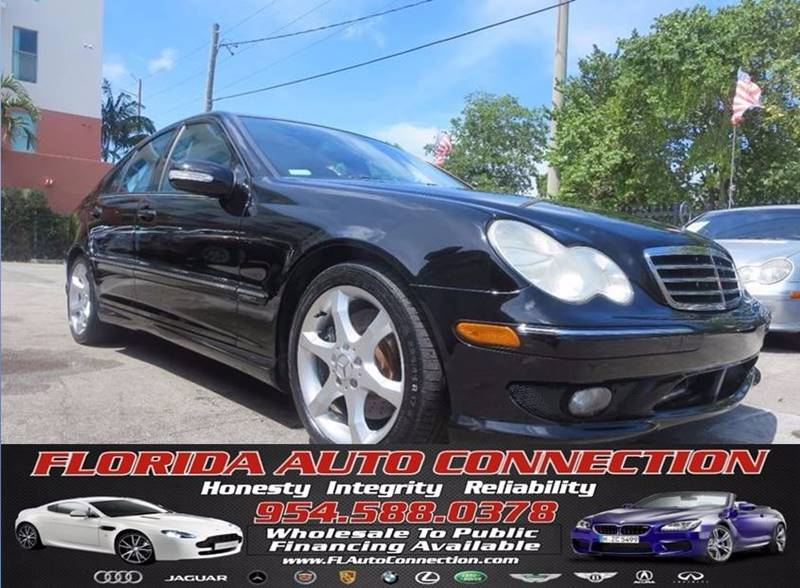 2007 Mercedes-Benz C-Class for sale at FLORIDA AUTO CONNECTION in Hollywood FL