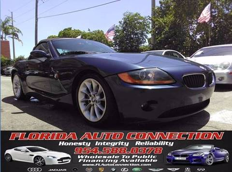 2003 BMW Z4 for sale at FLORIDA AUTO CONNECTION in Hollywood FL