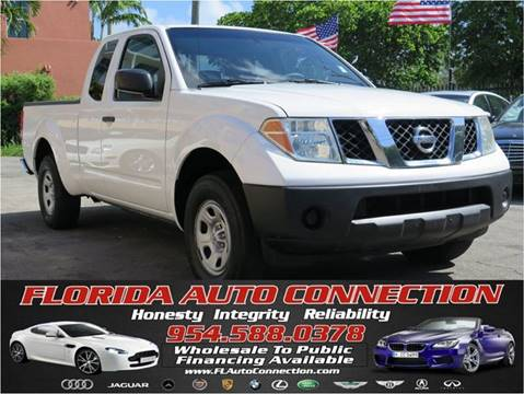 2005 Nissan Frontier for sale at FLORIDA AUTO CONNECTION in Hollywood FL