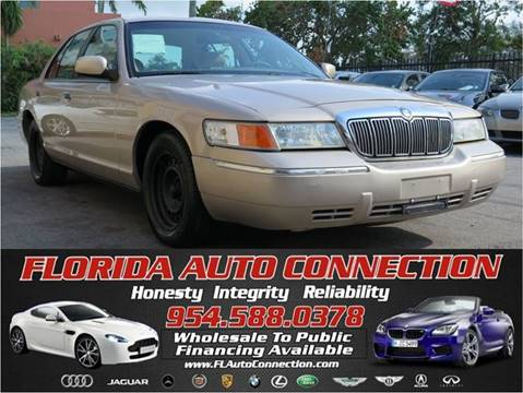 1998 Mercury Grand Marquis for sale at FLORIDA AUTO CONNECTION in Hollywood FL