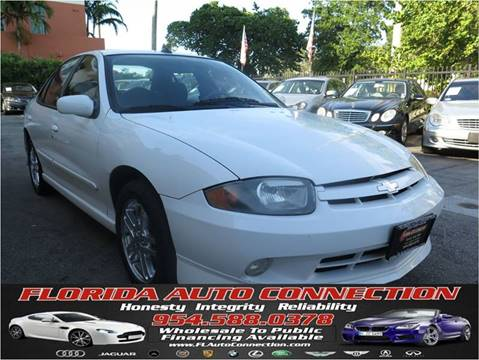 2003 Chevrolet Cavalier for sale at FLORIDA AUTO CONNECTION in Hollywood FL
