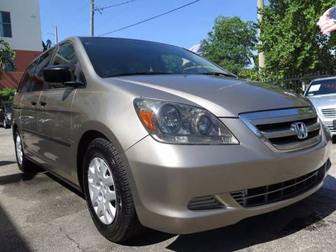 2005 Honda Odyssey for sale at FLORIDA AUTO CONNECTION in Hollywood FL