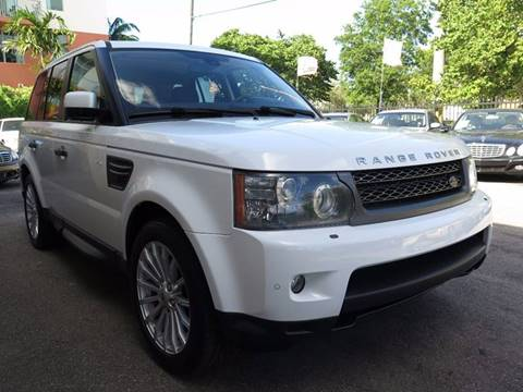 2011 Land Rover Range Rover Sport for sale at FLORIDA AUTO CONNECTION in Hollywood FL