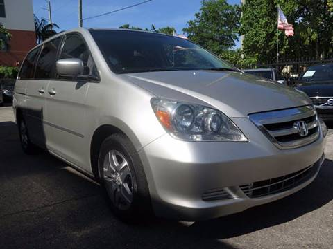2006 Honda Odyssey for sale at FLORIDA AUTO CONNECTION in Hollywood FL