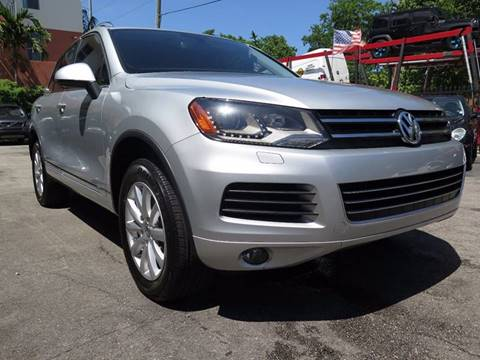 2012 Volkswagen Touareg for sale in Hollywood, FL