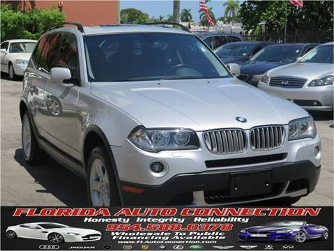 2007 BMW X3 for sale at FLORIDA AUTO CONNECTION in Hollywood FL