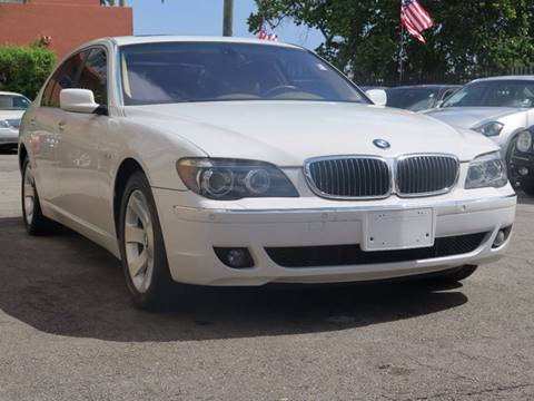 2006 BMW 7 Series for sale at FLORIDA AUTO CONNECTION in Hollywood FL