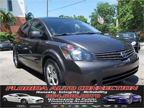 2009 Nissan Quest for sale at FLORIDA AUTO CONNECTION in Hollywood FL