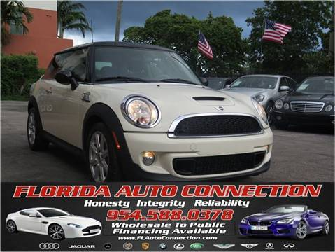 2012 MINI Cooper Hardtop for sale at FLORIDA AUTO CONNECTION in Hollywood FL