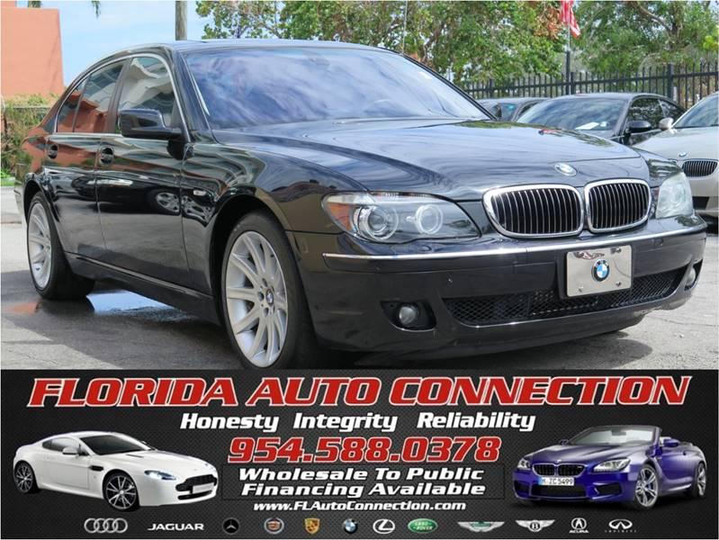 2006 BMW 7 Series 750i In Davie FL - FLORIDA AUTO CONNECTION
