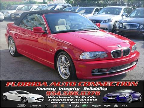 2003 BMW 3 Series for sale at FLORIDA AUTO CONNECTION in Hollywood FL
