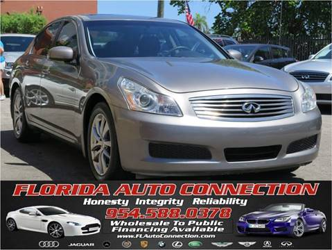 2008 Infiniti G35 for sale at FLORIDA AUTO CONNECTION in Hollywood FL