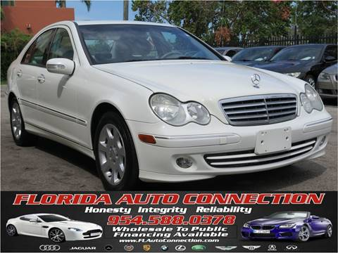 2005 Mercedes-Benz C-Class for sale at FLORIDA AUTO CONNECTION in Hollywood FL