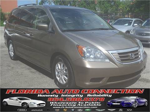 2009 Honda Odyssey for sale at FLORIDA AUTO CONNECTION in Hollywood FL