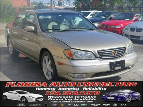 2003 Infiniti I35 for sale at FLORIDA AUTO CONNECTION in Hollywood FL